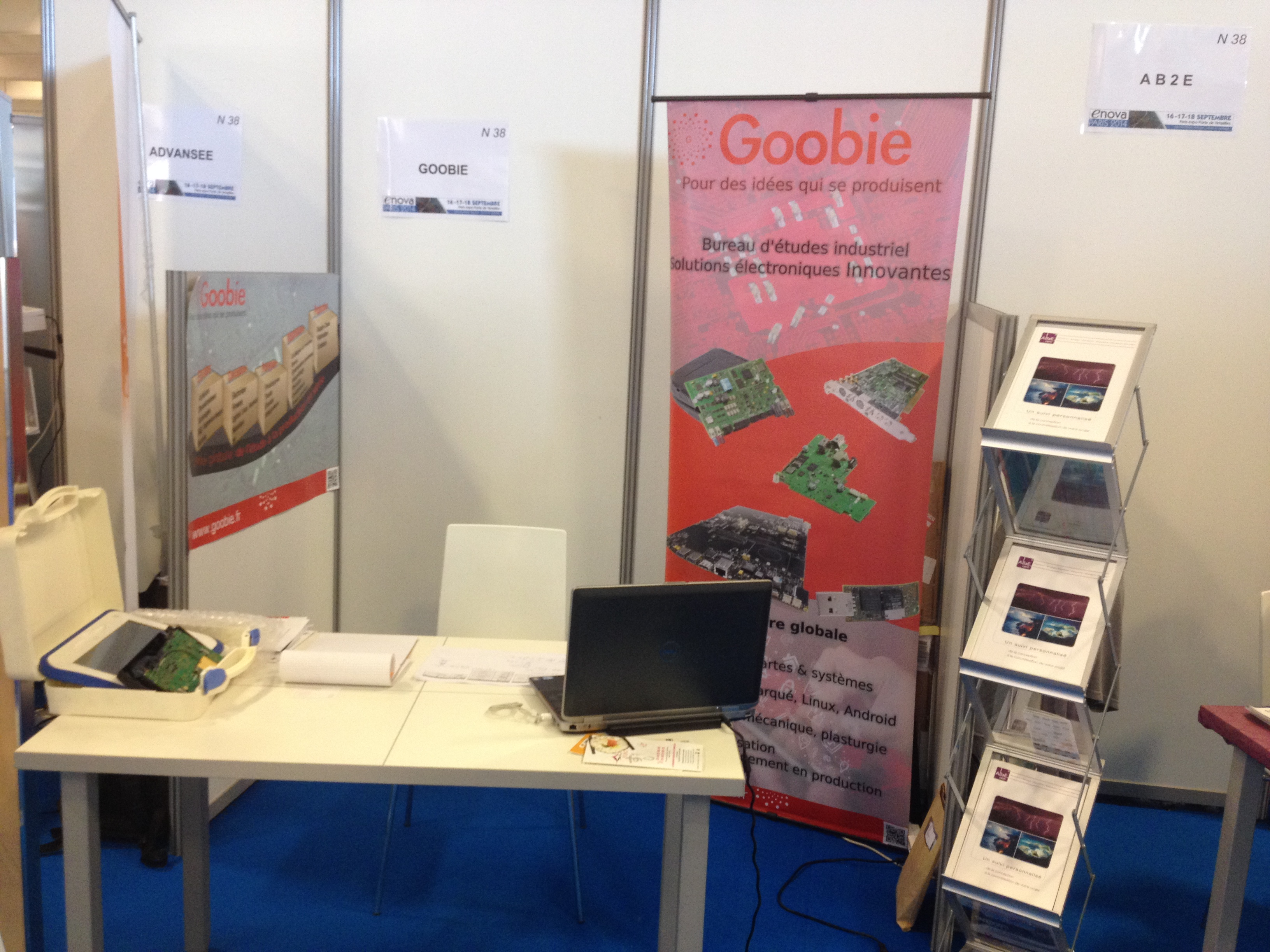 News goobie for Porte de versailles salon adresse