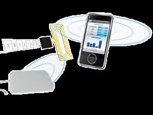 Démonstrateurs RFID NFC pour téléphone portable - preview